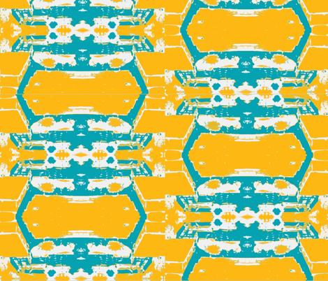 Kinshasa in the Dry Season -2  fabric by susaninparis on Spoonflower - custom fabric