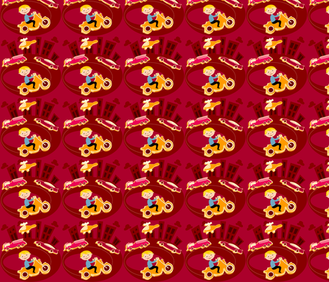 Rev it up fabric by gomakeme on Spoonflower - custom fabric