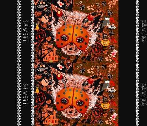 Hallo Kitty pillowcase treat bag fabric by paragonstudios on Spoonflower - custom fabric