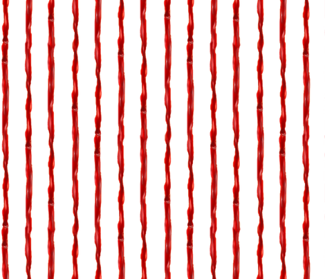 Vampire_Stripes fabric by eclectic_mermaid on Spoonflower - custom fabric