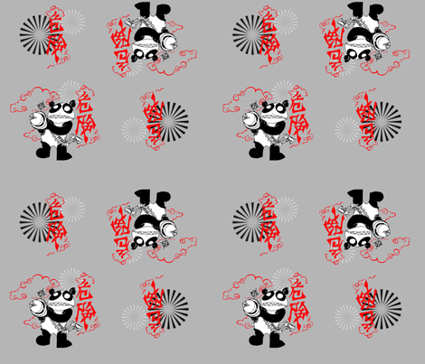bad_panda fabric by annioutlife on Spoonflower - custom fabric