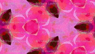 Pink & rose aquarelle