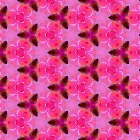 Pink & rose aquarelle fabric by vib on Spoonflower - custom fabric