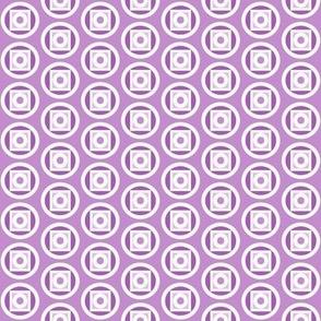 Circle takes the square purple