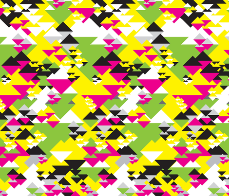 Diamonds Neon fabric by dolphinandcondor on Spoonflower - custom fabric