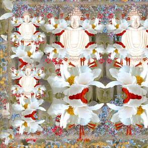 Sitting Buddha oneB fabric