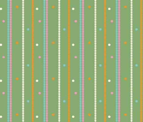 multidotgrnbckd_sm fabric by air_&_loom on Spoonflower - custom fabric