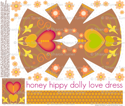 honey hippy dolly love dress