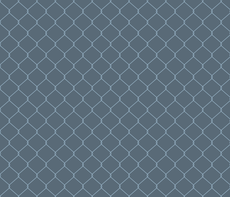 No Easy Way Out (Dark Blue) fabric by leighr on Spoonflower - custom fabric