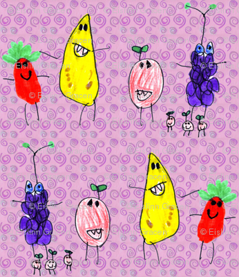 A Very Fruity Conga Line