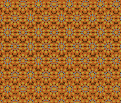rosettes fabric by ravynka on Spoonflower - custom fabric