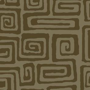 square spiral - java