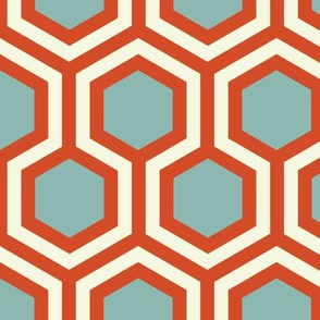 Retro Hexagon