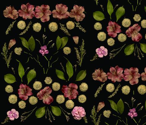 flowersfull_flat fabric by niconico on Spoonflower - custom fabric