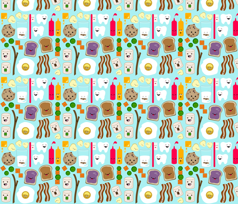 2gether 4ever fabric by nadiahassan on Spoonflower - custom fabric