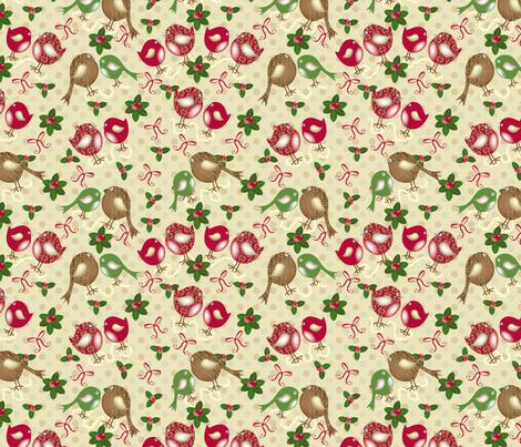 Birds holiday3-01 fabric by deesignor on Spoonflower - custom fabric