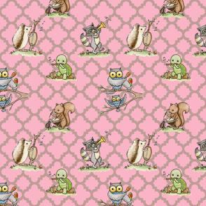 Critter Jamboree pink