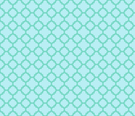 jamboree blue fabric by mytinystar on Spoonflower - custom fabric
