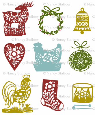 christmas cutouts 2