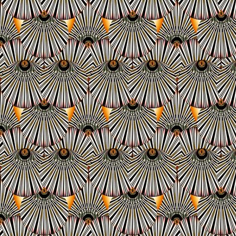 Deco Feather fabric by joanmclemore on Spoonflower - custom fabric
