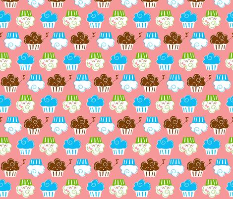 Cupcakes fabric by malien00 on Spoonflower - custom fabric