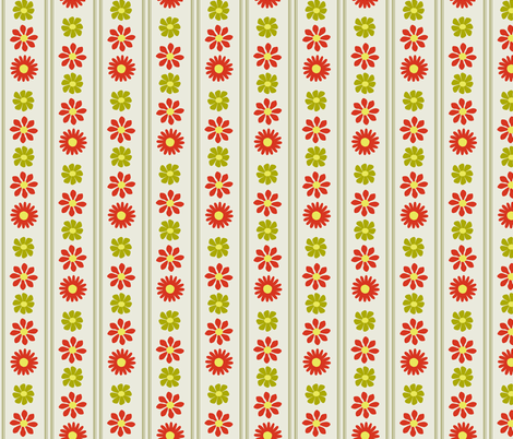 Wall Flowers fabric by oranshpeel on Spoonflower - custom fabric