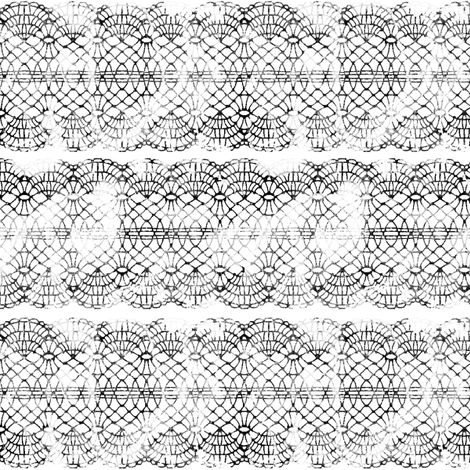 Grunge Lace (tight) fabric by leighr on Spoonflower - custom fabric