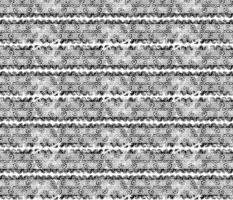 Grunge Floral Lace (tight) fabric by leighr on Spoonflower - custom fabric