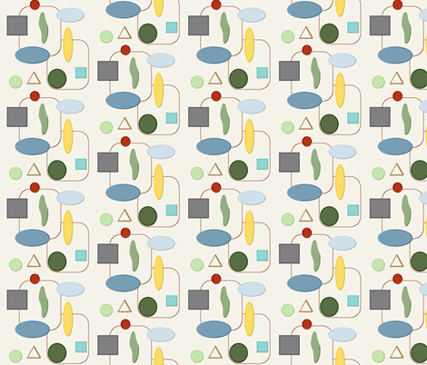 shapes fabric by oranshpeel on Spoonflower - custom fabric