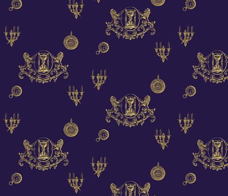 Lestat de Lioncourt  fabric by rykan on Spoonflower - custom fabric
