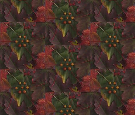 Autumn_Flowering_001 fabric by eatsleepsew on Spoonflower - custom fabric