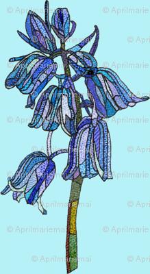 mini bluebell in light blue