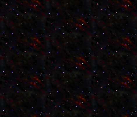 Starry nebula fabric whatsit spoonflower for Nebula material