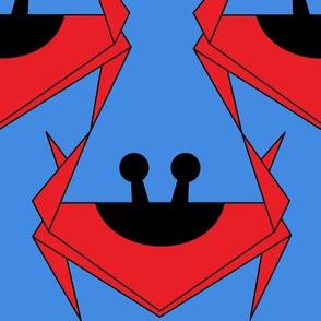 Origami Crabs