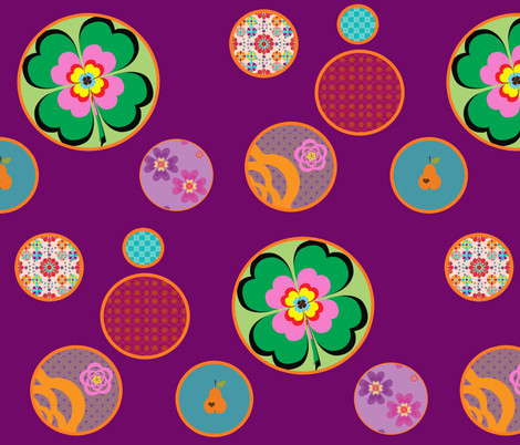 circles fabric by snork on Spoonflower - custom fabric