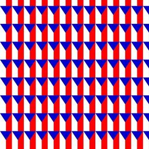 Czech flag pattern