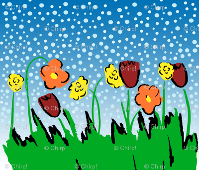 Flowersgrassdots1