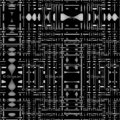Urbane Maze Black © Gingezel™ 2011