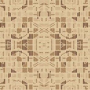 Very Geometric Beige © Gingezel™ 2011
