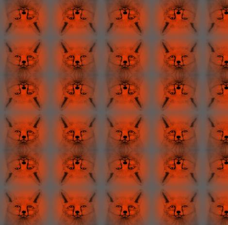 Fox Malin fabric by angelsgreen on Spoonflower - custom fabric