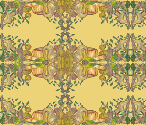 The_Gathering fabric by chovy on Spoonflower - custom fabric