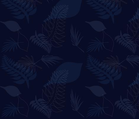Leaf 008 fabric by lowa84 on Spoonflower - custom fabric