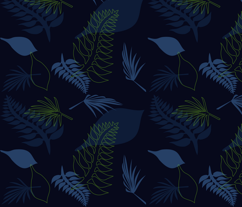 leaf 011 fabric by lowa84 on Spoonflower - custom fabric