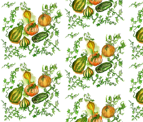 gourdfabric fabric by poshcrustycouture on Spoonflower - custom fabric