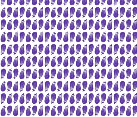 Eggplants fabric by siya on Spoonflower - custom fabric