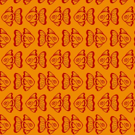 Goldfish fabric by siya on Spoonflower - custom fabric