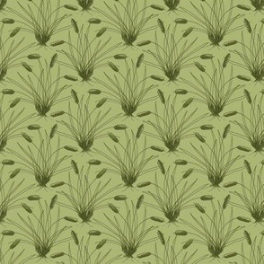 Cattail Fabric Wallpaper Gift Wrap Spoonflower