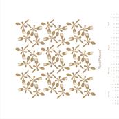Floral Flatware-Tan