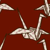 Rpaper_crane_-_white_flowers_on_red_shop_thumb