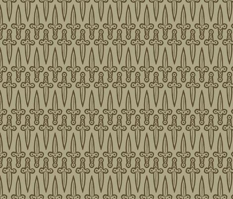 Daggers fabric by siya on Spoonflower - custom fabric